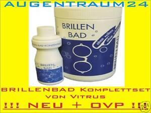 BRILLENBAD-Vitrus-NEU-OVP-inkl-100ml-Konzentrat-Microfasertuch-vom-Augenoptiker