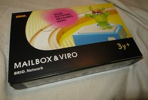 BRIO-NETWORK-Mailbox-und-Viro-33288-NEU-OVP-sprechender-Briefkasten