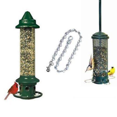 Brome Squirrel Buster Plus Mini Finch Squirrel Proof Bird Feeders Chain