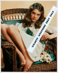 brooke shields rare young hollywood days photo feet toes