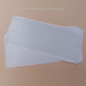 Brother and Knitking Punch Cards - Machine Knitting etc