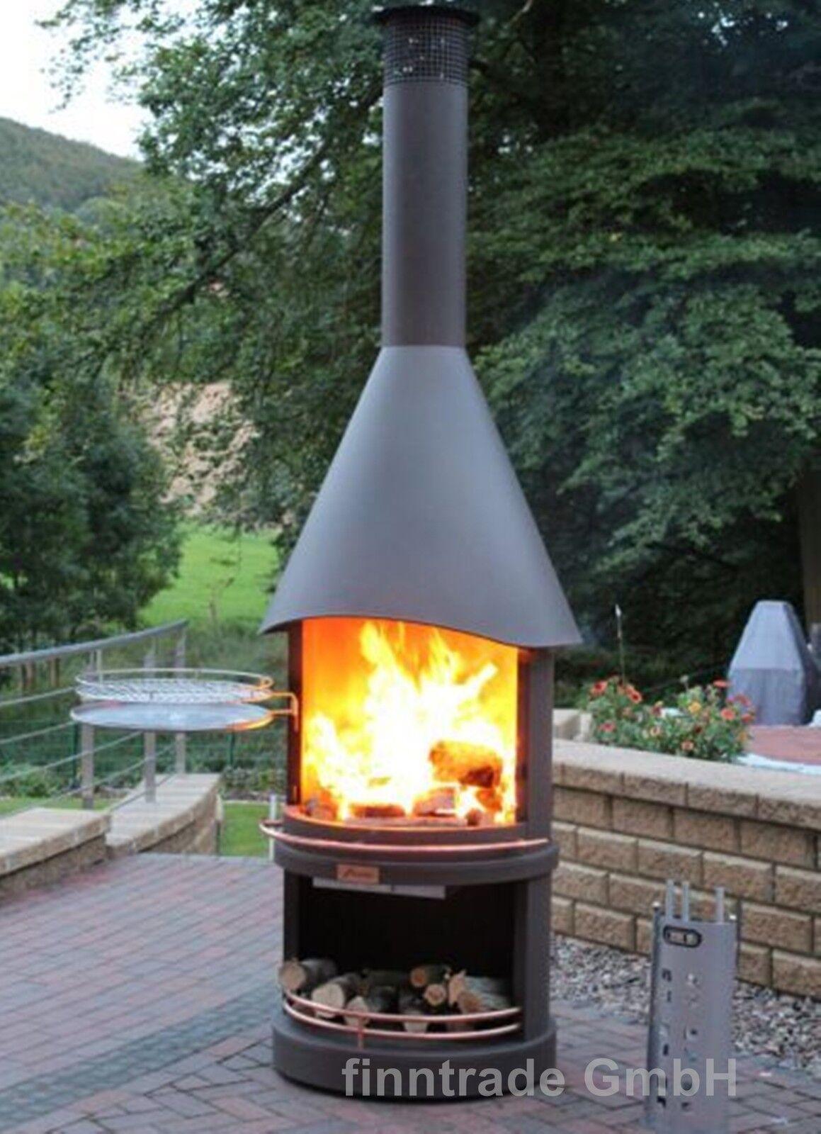 terrassenofen gartenkamin grillkamin edelstahl 70 kupfer. Black Bedroom Furniture Sets. Home Design Ideas