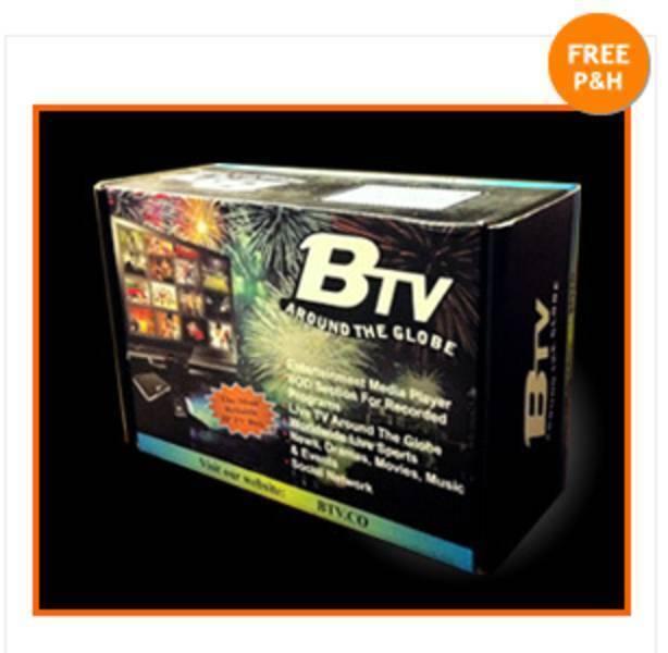 BTV Box Pakistan India Bangla Afghan Punjabi Nepali Free Live TV