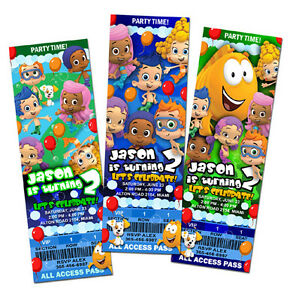 Bubble Guppies Party Invitation is amazing invitations ideas
