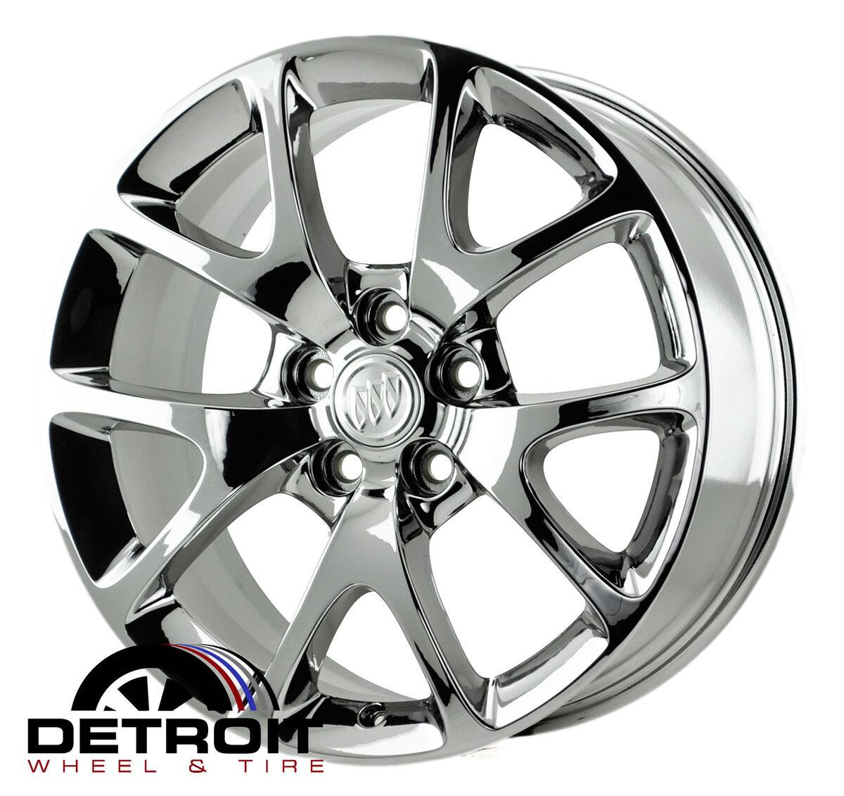 Buick Regal PVD Bright Chrome Wheels Factory Rim 4108 Exchange 2011 2013
