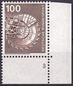 BUND-MiNr-854-rechte-untere-Ecke-Formnummer-3-postfrisch