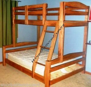 Bunk Bed Paper Patterns Build King Over Queen Over Full Over Twin Easy ...