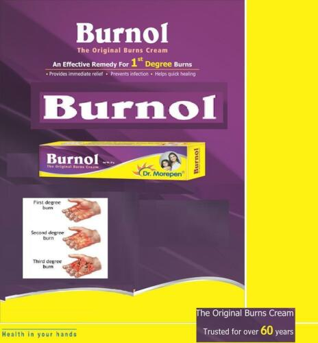 Details about Burnol 20g Cream Dr  Morepen - The Original Burns Cream