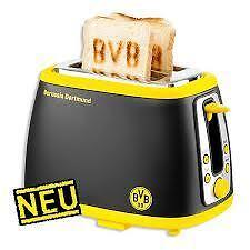 bvb 09 fanartikel borussia dortmund sound toaster geschenk musik sandwichtoaster ebay. Black Bedroom Furniture Sets. Home Design Ideas