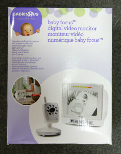 Babies R Us Baby Focus Digital Video Baby Monitor by Summer Infant in Baby, Baby Safety & Health, Baby Monitors | eBay