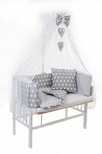 baby beistellbett weiss wiege babybett 3in1 komplett. Black Bedroom Furniture Sets. Home Design Ideas