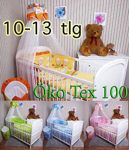 Baby-Bettwaesche-Himmel-Nestchen-Bettset-100x135cm-fuer-Babybett-120x60-140x70