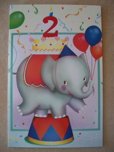 """Baby Boy """"2nd Birthday"""" Card With Red Envelope By Tender Thoughts Greetings NEW in Home & Garden, Holidays, Cards & Party Supply, Cards & Stationery   eBay"""