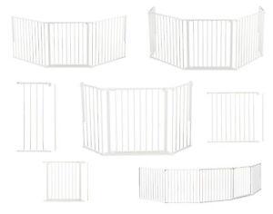 baby dan flex schutzgitter wei kaminschutzgitter in allen varianten m l xl xxl ebay. Black Bedroom Furniture Sets. Home Design Ideas