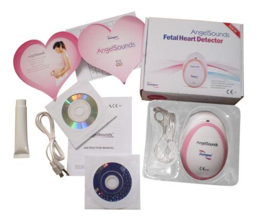Baby Fetal Doppler Angel Sound Heart Monitor Portable Angelsounds Detector - D