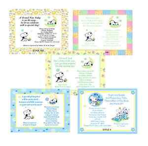 Snoopy Invitations as nice invitation ideas