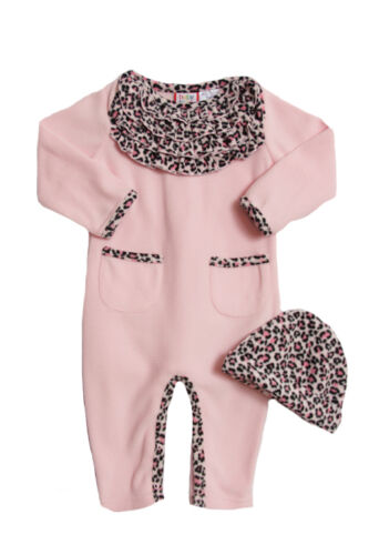 Baby Togs Newborn Girls (3-9 months) 2 pc pink leopard print polar fleece set in Clothing, Shoes & Accessories, Baby & Toddler Clothing, Girls' Clothing (Newborn-5T) | eBay