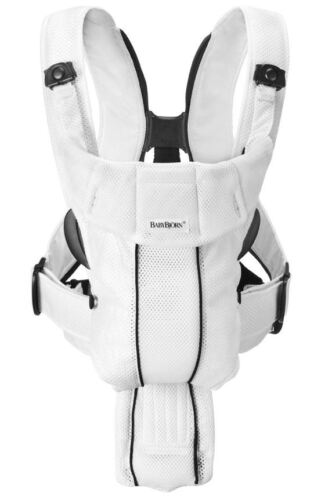 BabyBjorn Baby Bjorn Carrier Synergy Breathable 3D White Mesh NEW in Baby, Baby Gear, Baby Carriers & Slings | eBay