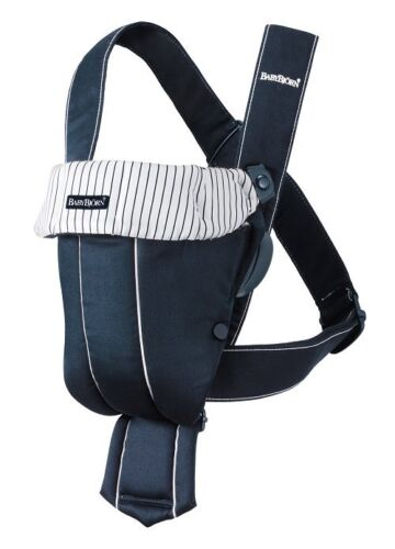 BabyBjorn Baby Carrier Original - Dark Blue/Stripes, Classic in Baby, Baby Gear, Baby Carriers & Slings | eBay