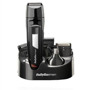babyliss 7056cu mens rechargeable body hair beard trimmer clipper grooming ki. Black Bedroom Furniture Sets. Home Design Ideas