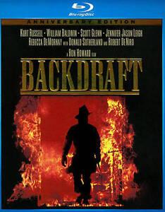 Backdraft (Blu-ray Disc, 2011, Anniversa...