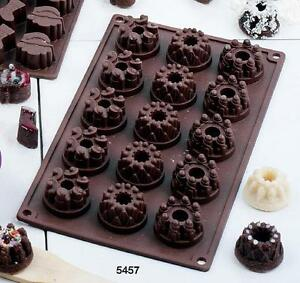 backform mini gugelhupf silikon pralinen schokolade kerze muffin pudding form ebay. Black Bedroom Furniture Sets. Home Design Ideas