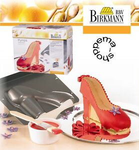 Backform-Motivbackform-Kuchenform-High-Heel-Pumps