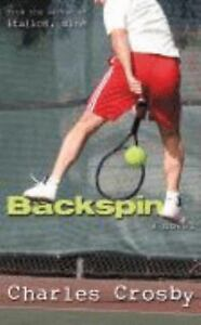 Backspin by Charles Crosby (2008, Paperb...