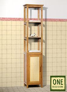bad hochschrank badm bel 39 bali 39 bad schrank bambus badezimmer uvp 179 95 ebay. Black Bedroom Furniture Sets. Home Design Ideas