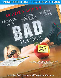 Bad Teacher (Blu-ray/DVD, 2011, 2-Disc S...
