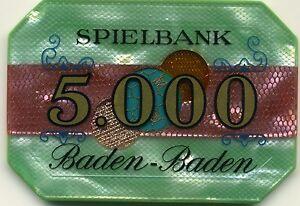 Baden Baden Plaque 5.000 DM - Berlin, Deutschland - Baden Baden Plaque 5.000 DM - Berlin, Deutschland