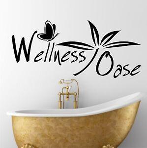 badezimmer sauna dusche wellness oase aufkleber. Black Bedroom Furniture Sets. Home Design Ideas