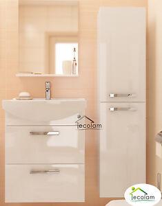 badm bel set 2 schr nke waschbecken 60 cm h ngend schubladen unterschrank m c ebay. Black Bedroom Furniture Sets. Home Design Ideas