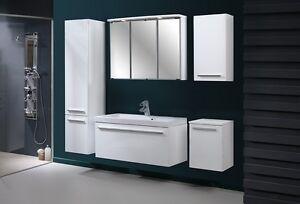 badm bel set atos wei 80 hochglanz badm bel mit. Black Bedroom Furniture Sets. Home Design Ideas