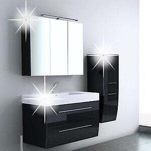 Badm bel set waschtisch unterschrank spiegelschrank for Ebay badmobel set