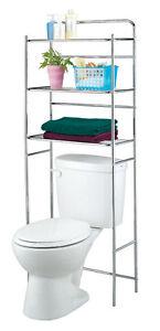 badregal regal standregal berbauregal wc waschmaschine ablage chrom ebay. Black Bedroom Furniture Sets. Home Design Ideas