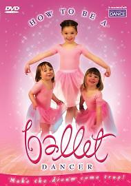How To Be A Ballet Dancer (DVD, 2005)