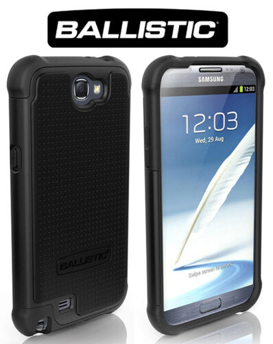 Ballistic Shell Gel SG Series Case for Samsung Galaxy Note II 2 Black on Black in Cell Phones & Accessories, Cell Phone Accessories, Cases, Covers & Skins | eBay