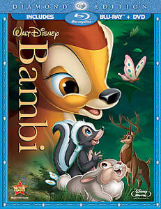 Bambi (Blu-ray/DVD, 2011, 2-Disc Set, Di...