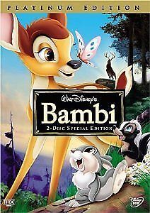 Bambi (DVD, 2005, 2-Disc Set, Special Ed...