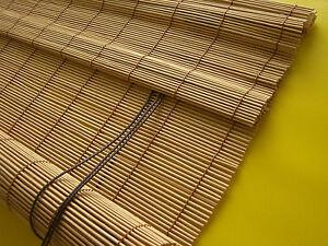 bambusrollo sichtschutz bambus vorhang t r rollo holzrollo kirschbaum 90 x 240 ebay. Black Bedroom Furniture Sets. Home Design Ideas