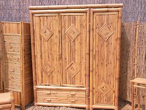 bambusschrank kleiderschrank bambus schrank bambusm bel. Black Bedroom Furniture Sets. Home Design Ideas