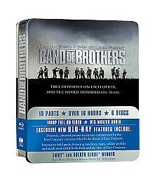 Band of Brothers (Blu-ray Disc, 2010, 6-...