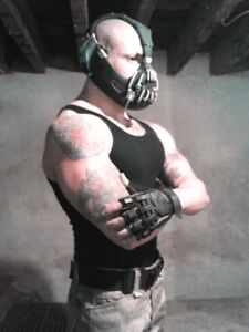 Bane Mask for Sale http://www.ebay.com/itm/Bane-Mask-Unpainted-/280929139561