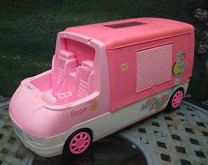 barbie auto wohnwagen camper wohnmobil mattel 1996. Black Bedroom Furniture Sets. Home Design Ideas