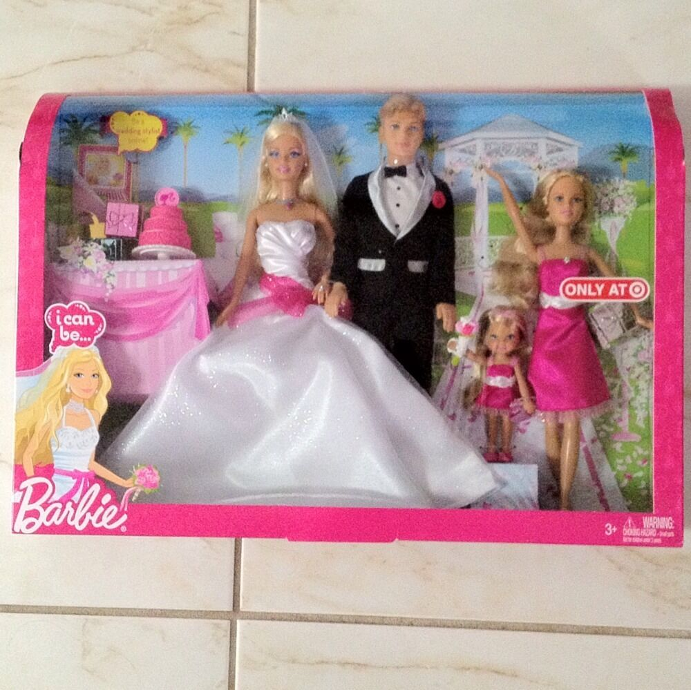 Barbie Wedding Doll Set: Bride Doll Parties On Pinterest