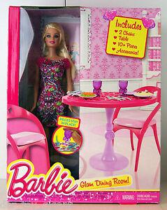 barbie m bel accessoires glam dining room barbie. Black Bedroom Furniture Sets. Home Design Ideas