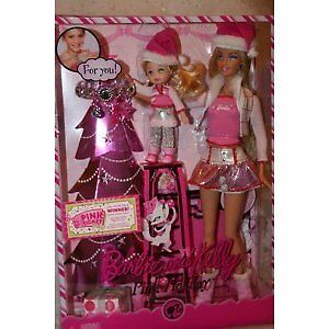 Barbie and Kelly Pink Holiday Barbie Dolls Set - rare hard to find. NIB in Dolls & Bears, Dolls, Barbie Contemporary (1973-Now) | eBay