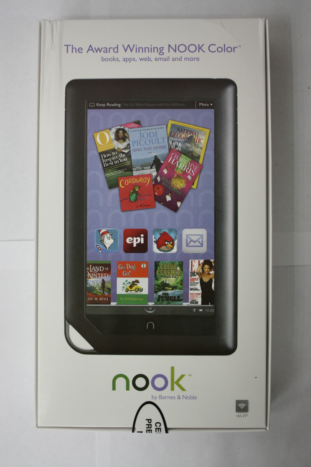 Barnes Noble Nook Color 8gb Wi Fi 7in Black 9781400532650