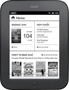 Barnes & Noble Nook Simple Touch 2GB, Wi...